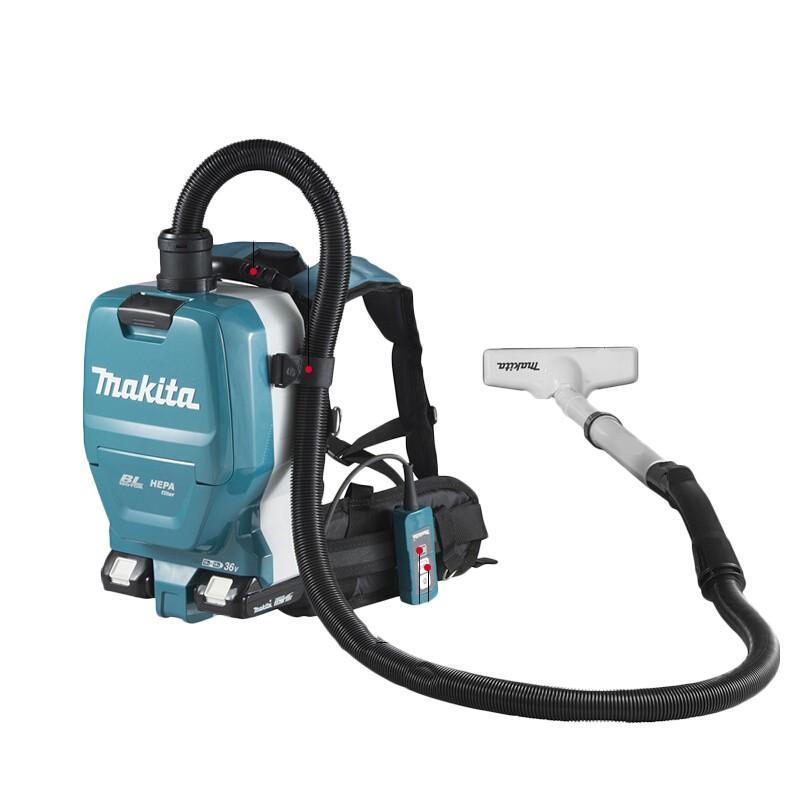 牧田makita 背负式真空吸尘机 两电一充套装 DVC261ZX16