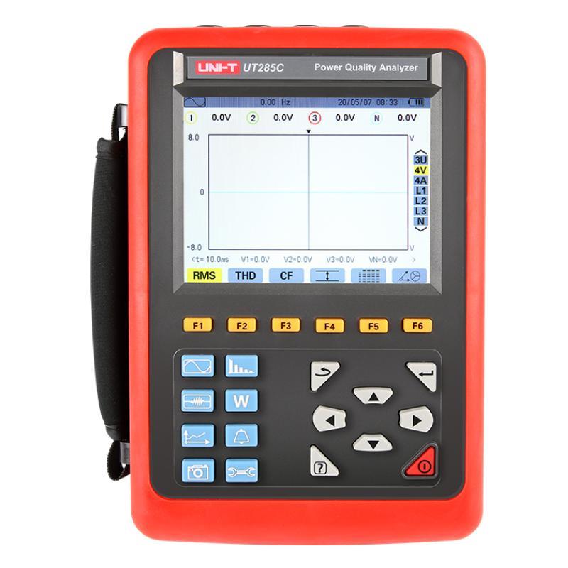 优利德/UNI-T 电能质量分析仪,UT285C(068B电流钳1000A)