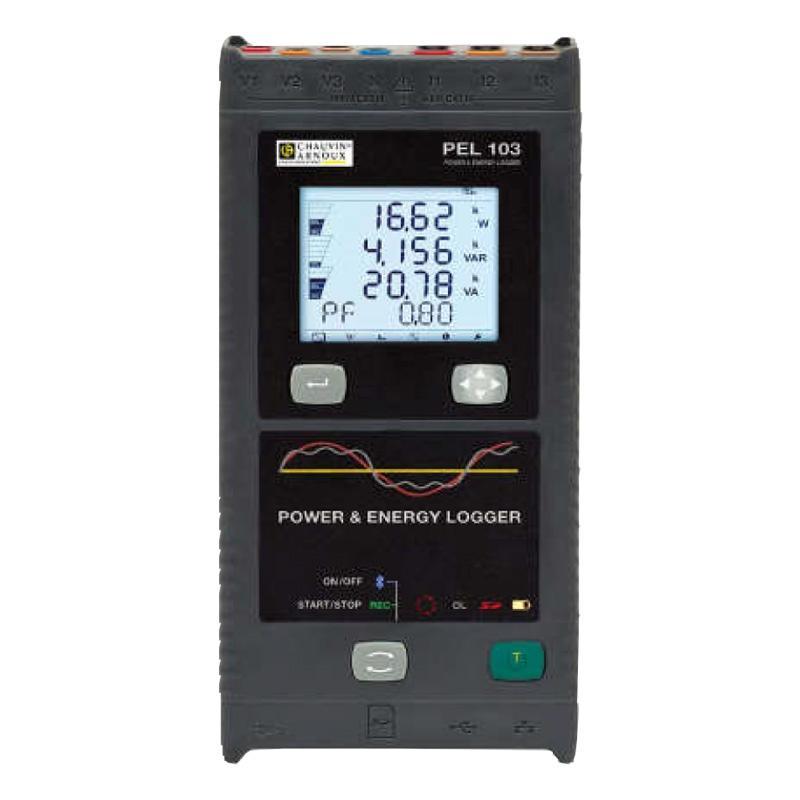 法国CA/CHAUVIN ARNOUX 电能记录分析仪(不含电流钳),PEL103