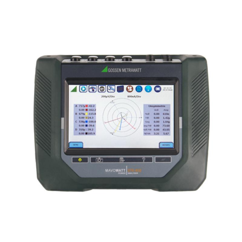 德国高美测仪 /GMC-I 400Hz电能质量分析仪,MAVOWATT 270-400 mini flex package