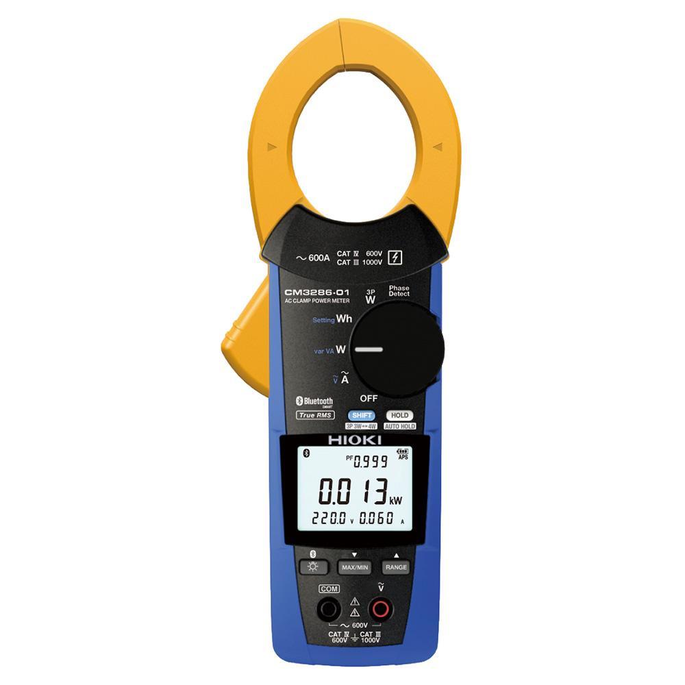 日置/HIOKI 带蓝牙AC钳形功率计,钳口直径46mm CM3286-01