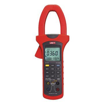优利德/UNI-T 数字钳形功率计,单交流,真有效,相序可测,UT233