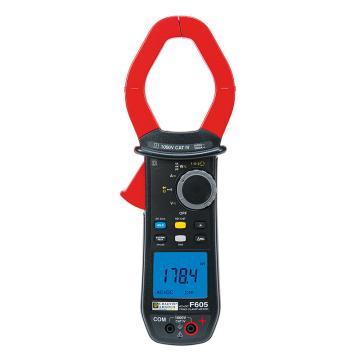 CHAUVIN ARNOUX/CA 功率钳形表,交直流,真有效值,钳口直径60mm,谐波,相序,F605