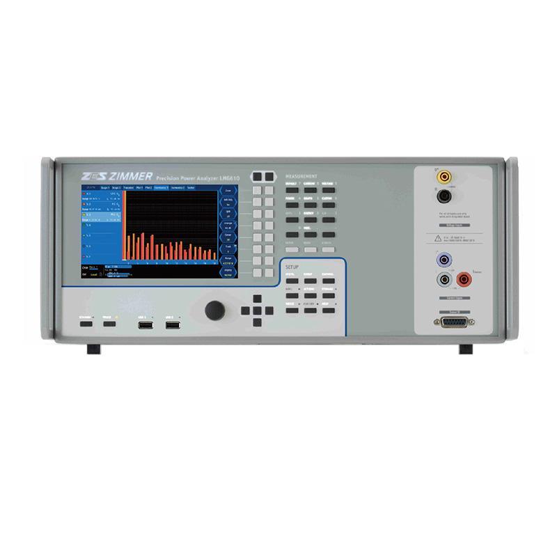 德国高美测仪/GMC-I 功率分析仪,LMG610(包含最高精度带宽的A模块,谐波分析模块)