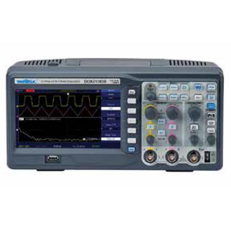 法国CA/CHAUVIN ARNOUX 台式示波器,2X100MHZ USB,DOX2100B