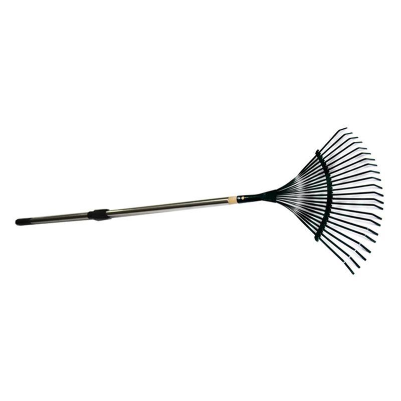 22齿钢丝耙 1.2米不锈钢伸缩柄 松土耙 园艺农用铁扒 耙子