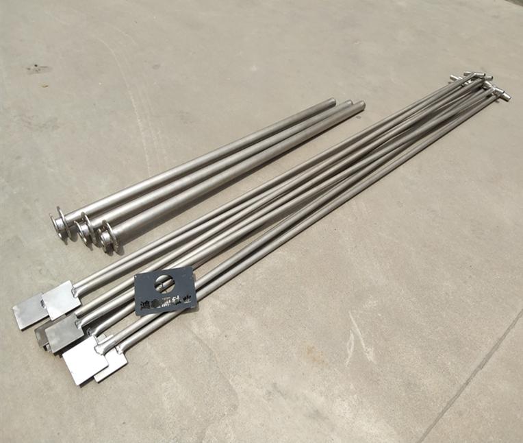 定制熔炉打渣铲 100*100mm方头 柄2米 碳钢材质