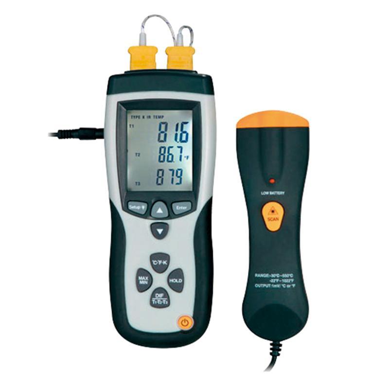 亚速旺/Asone 高性能数字温度计(4通道/带放射测试功能),8891E CC-3324-01