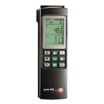 德图/Testo 工业温湿度仪,探头需另配,testo 645,订货号:0560 6450