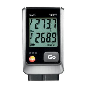 德图/Testo 温度记录仪,双通道温度数据记录仪 带2个外置热电偶接口,testo 175-T3,0572 1753