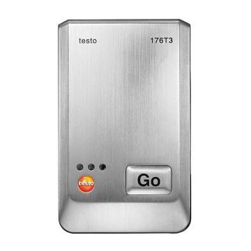 德图/Testo 温度记录仪,金属外壳 带有4个外接热电偶接口,testo 176-T3,订货号:0572 1763