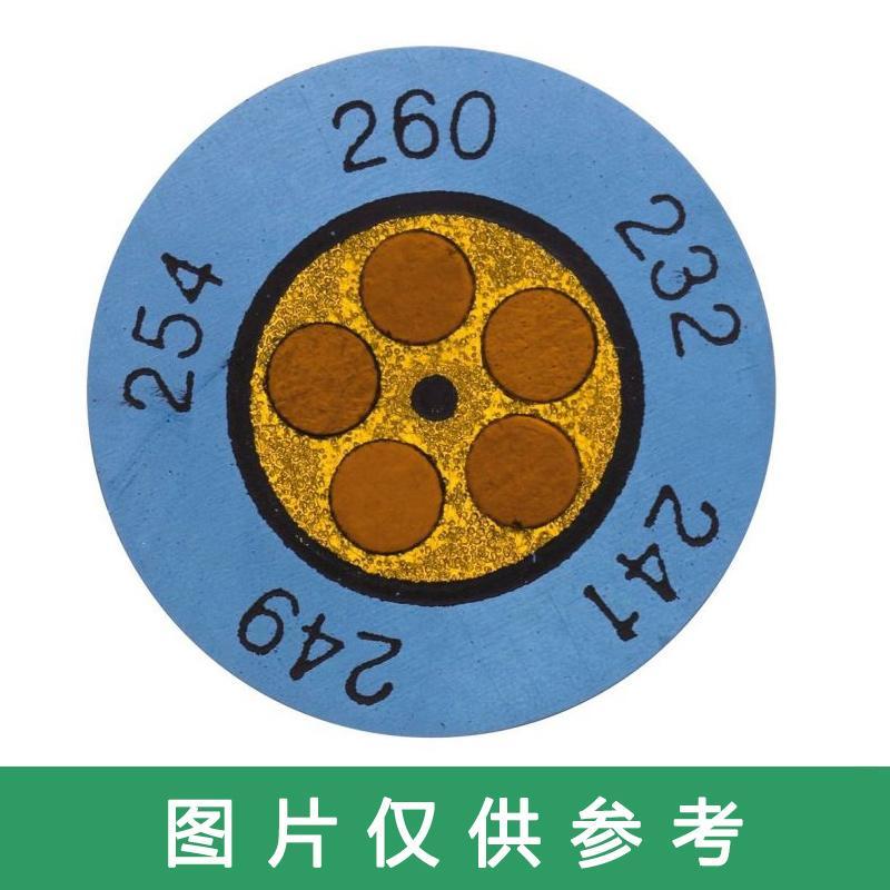 德图/Testo 迷你钟形温度贴,testoterm 88-110°C订货号 0646 0073 (每包10片装)