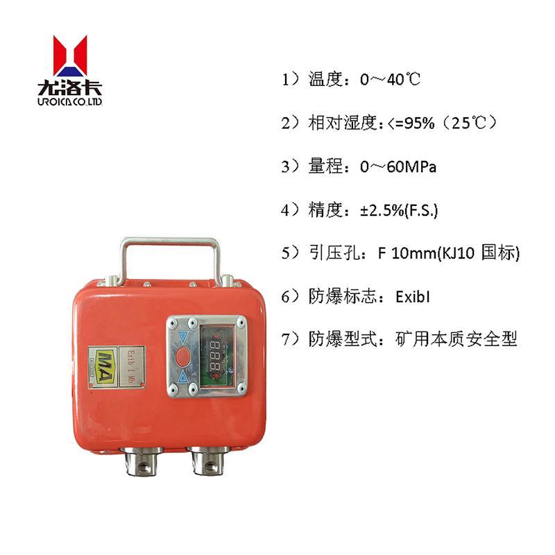 尤洛卡 矿用本安型压力检测仪,YHY60(C)