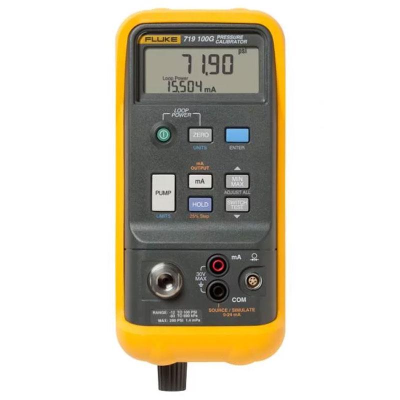 福禄克/FLUKE 便携式自动压力校验仪,FLUKE-719 100G
