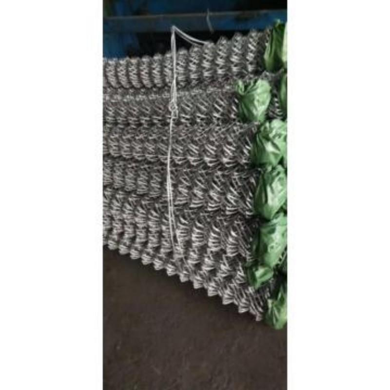 中富 菱形铁丝网,1×3m,网孔规格:50×50mm,钢材质:φ4mm热镀锌低碳钢丝