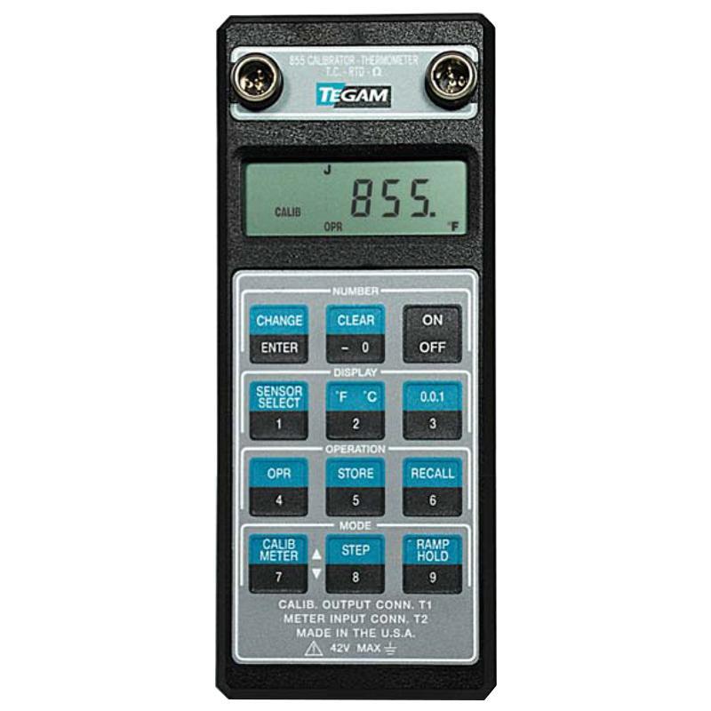 钛淦/TEGAM 多功能温度校准器,855