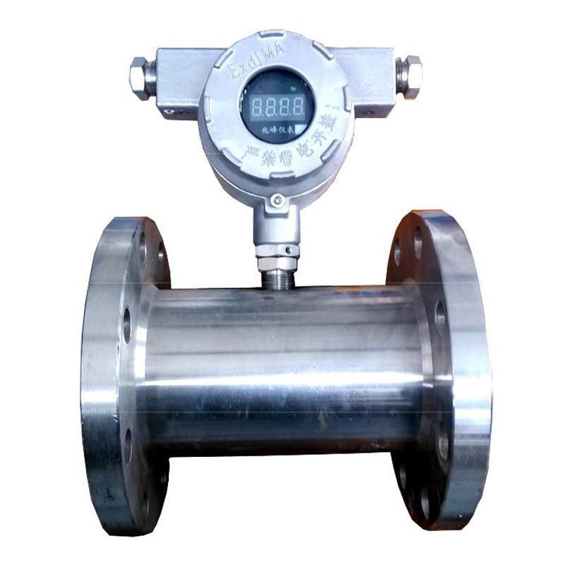 宜昌兆峰 GLW 系列矿用隔爆型涡轮流量传感器,GLW80/100