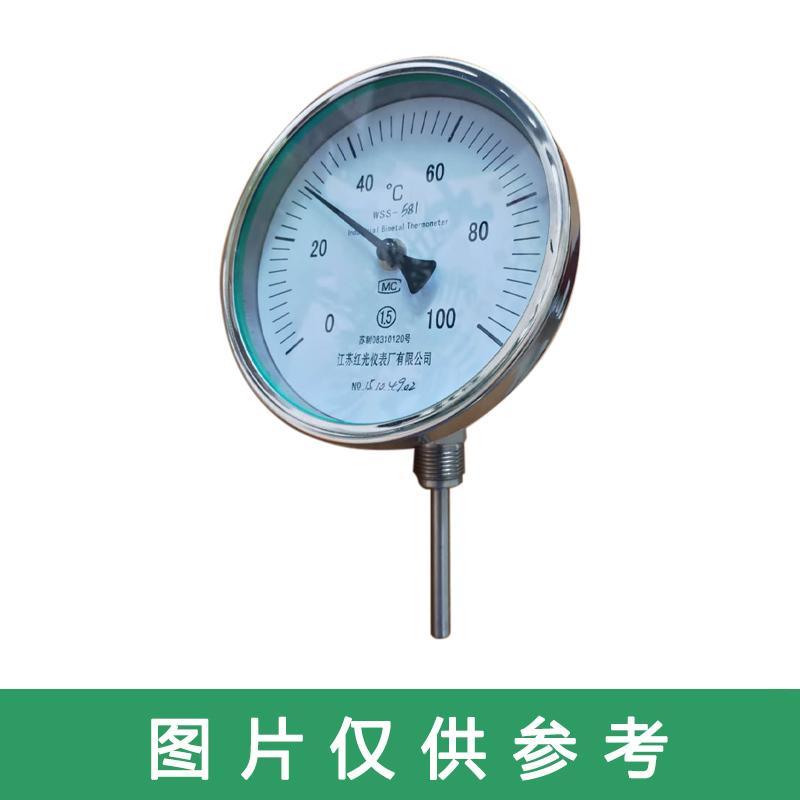 苏仪 双金属温度计,SY-WSS-571/300/0-300/10