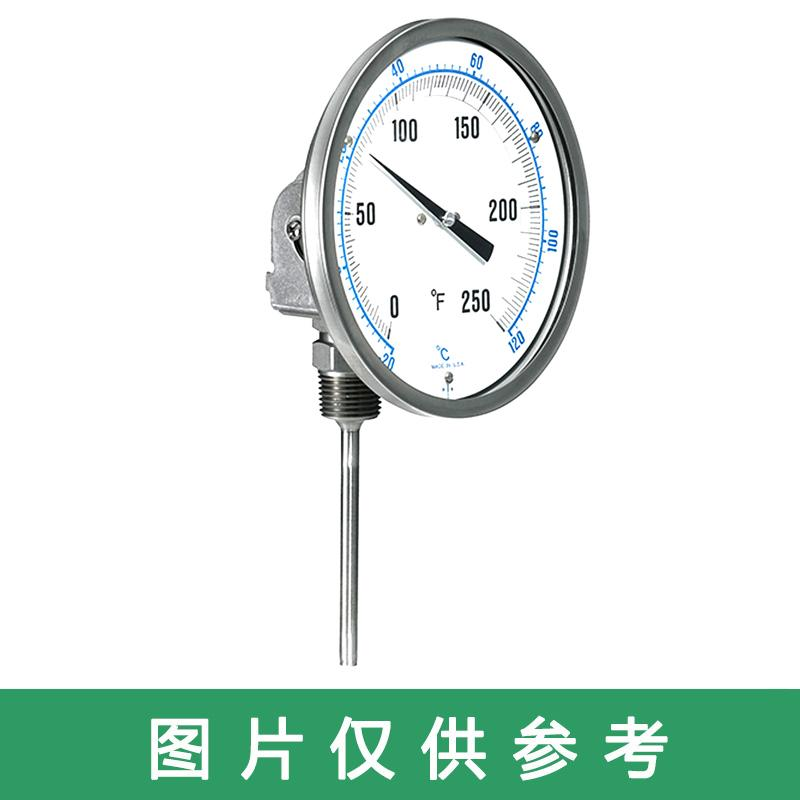 罗德玮格 双金属温度计,J2S/304不锈钢
