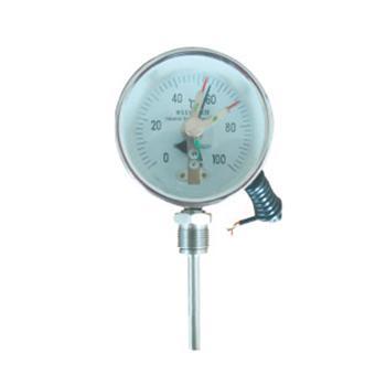 安徽旺能 电接点双金属温度计,WSSX-418M20*1.5 L=600mm