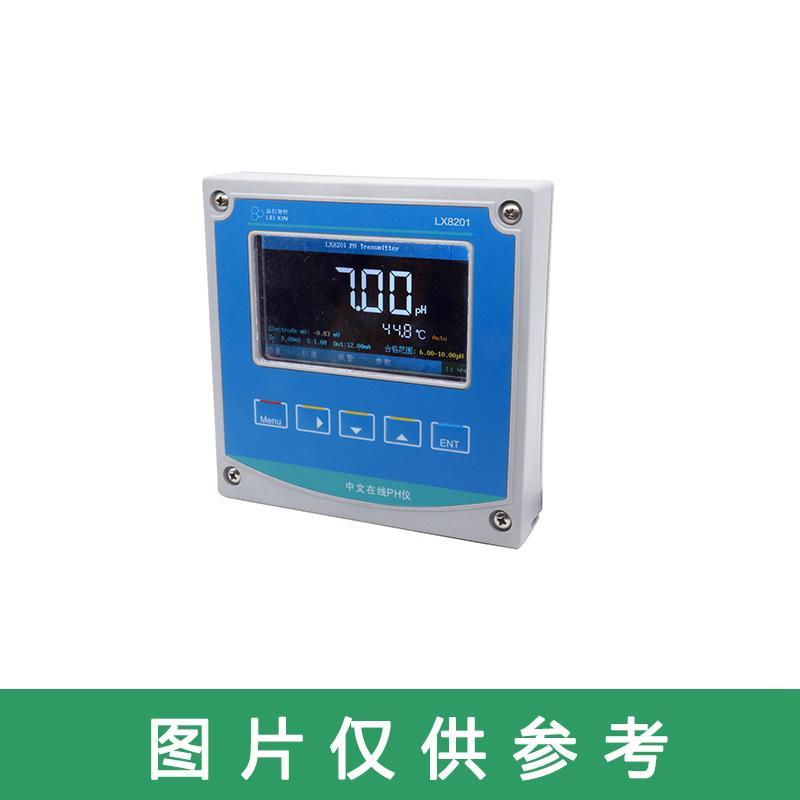 磊信 在线PH/ORP水质分析仪(单通道),LX8201 0~14pH,精度0.01pH;-2000mV~+2000mV