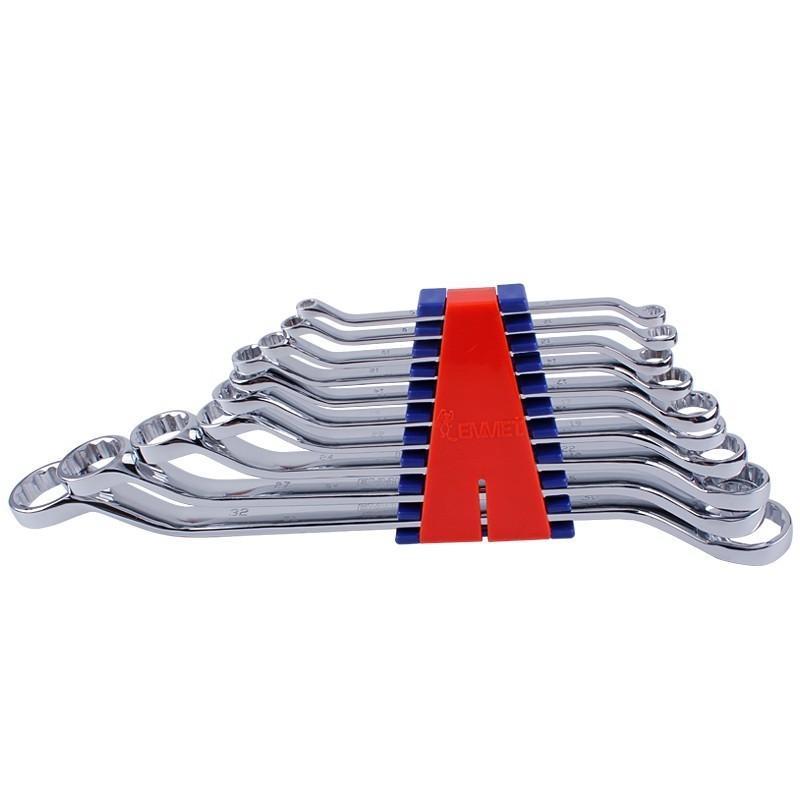 埃米顿Emmet 10件精抛平面双头梅花扳手组套(塑夹装),10PCS,11210123
