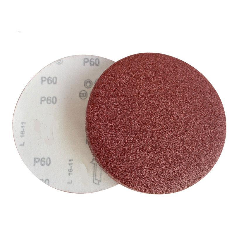 力得士 纱布(植绒) 圆形砂纸φ50mm 320#