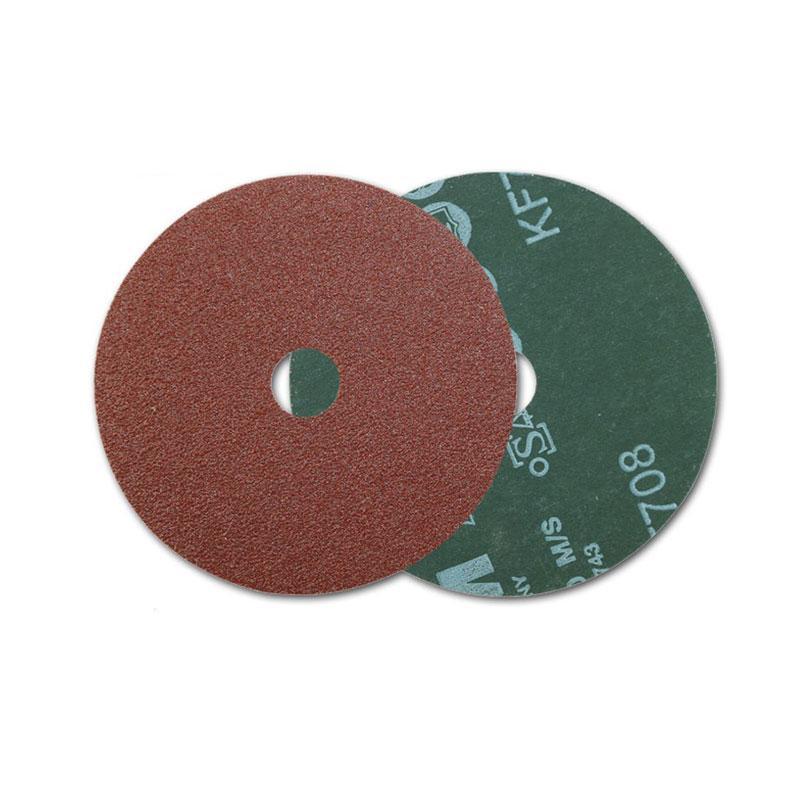 威力士钢纸砂碟  KF708 P80 125mm 100片/包