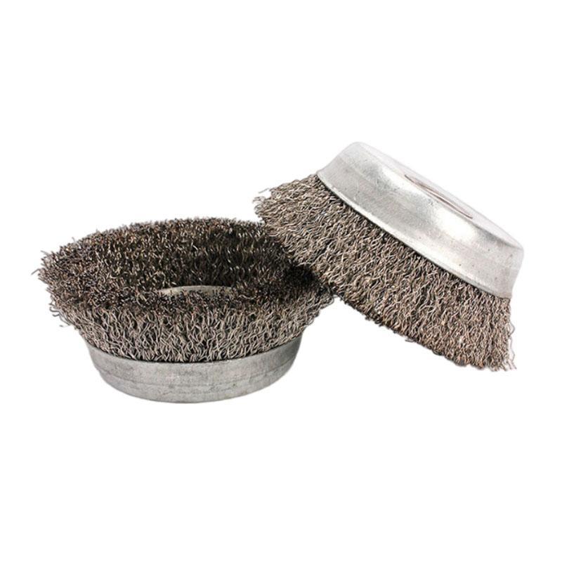晶士霸 不锈钢碗型钢丝轮  125*22