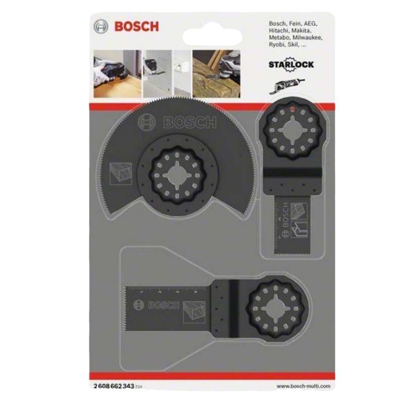 博世Bosch Starlock木工基础3件套,2608662343