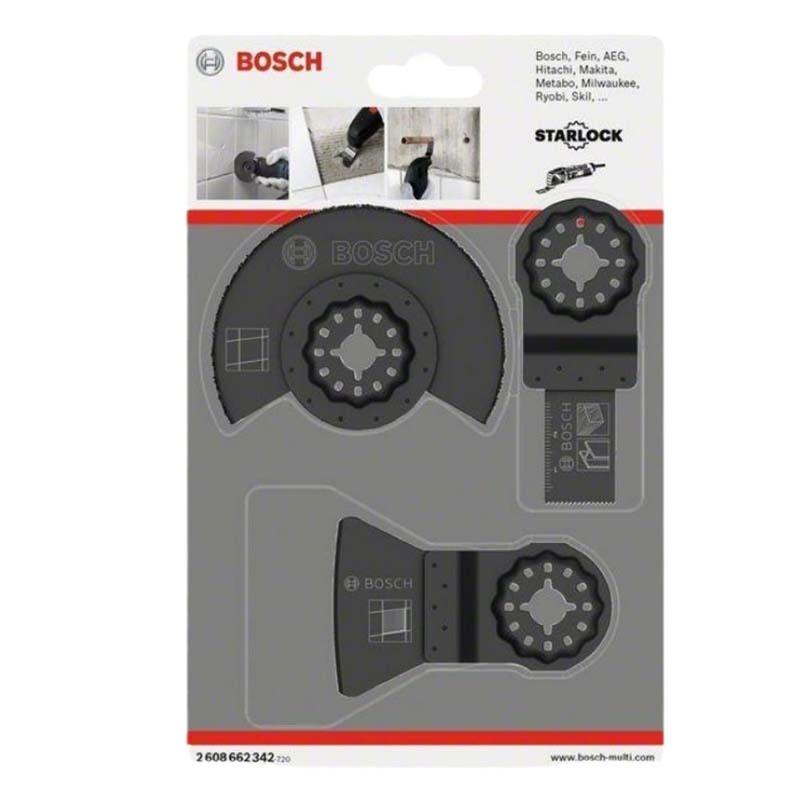 博世Bosch Starlock瓷砖基础3件套,2608662342