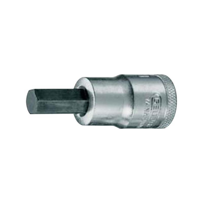 吉多瑞GEDORE 12.5mm(1/2)系列内六角旋具套筒,12mm,6153820