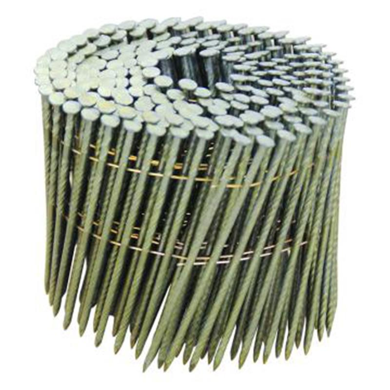美特螺纹卷钉 钉子长度110mm 线径3.1mm 2700枚/箱(225枚/卷 12卷/箱)
