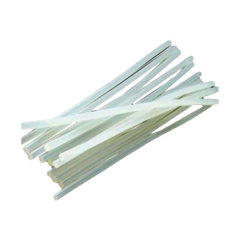 SHD 高粘度热熔胶棒 直径11mm半透明热熔胶条 长190mm