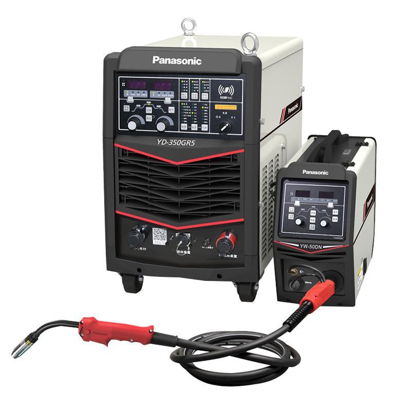 松下/Panasonic全数字控制CO2/MAG/MIG气体保护焊机 YD-350GR5HGE 带送丝装置 流量计 3米焊枪