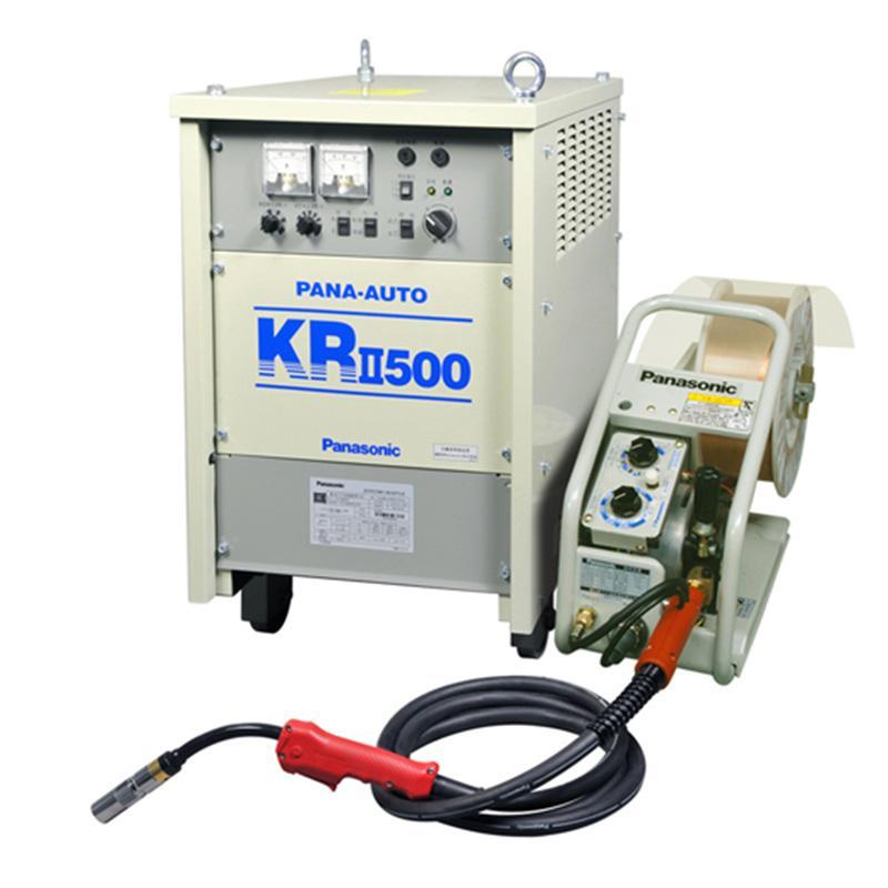 松下/Panasonic晶闸管控制CO2/MAG气体保护焊机 YM-500KR2HVE 带送丝装置 流量计 3米焊枪