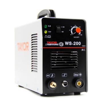 上海通用WS-200I直流氩弧焊机,适用220V电压,氩弧焊手工焊两用机