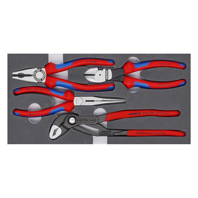 凯尼派克 Knipex 工具组套 基本款  4件套 00 20 01 V15