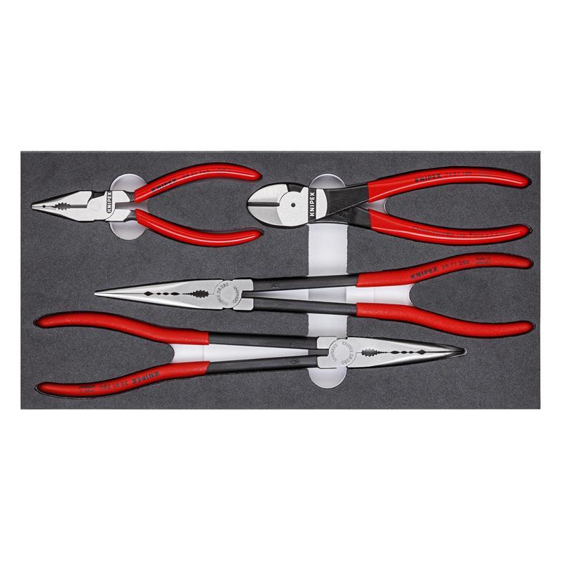 凯尼派克 Knipex 工具组套 汽车工具  4件套 00 20 01 V16