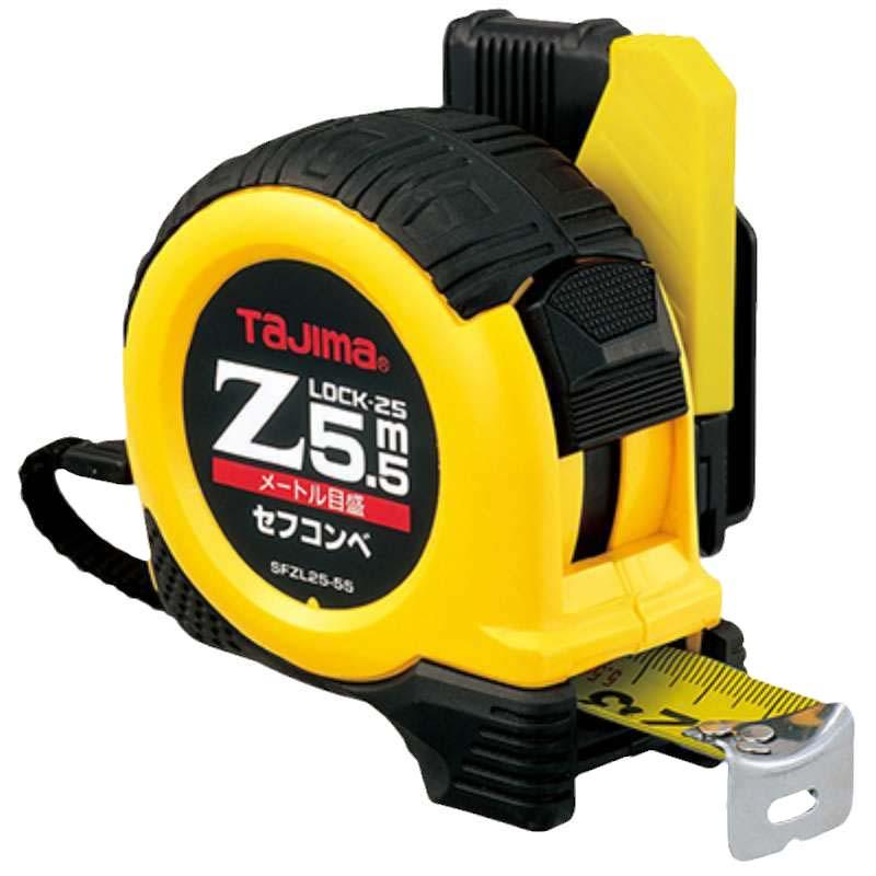 田岛TAJIMA ZLOCK卷尺,5.5米,SFZL25-55BL,1001-1889