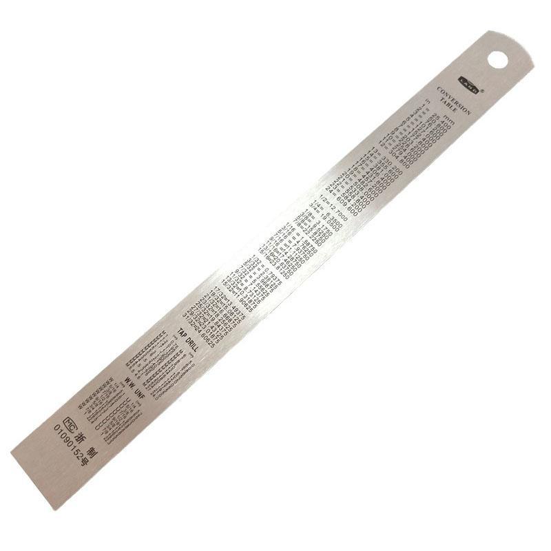 蓝达LAND 不锈钢钢直尺 300mm GZC30