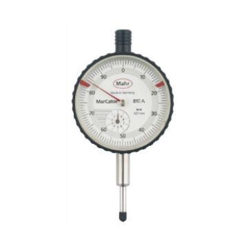 马尔 Mahr 机械式百分表 810A系列 0-10mm*0.01 4311050 不含第三方检测