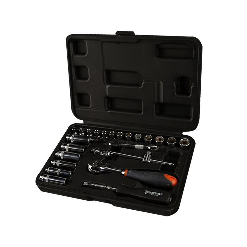 工具套装 25件套6.3mm系列公制组套 S010004