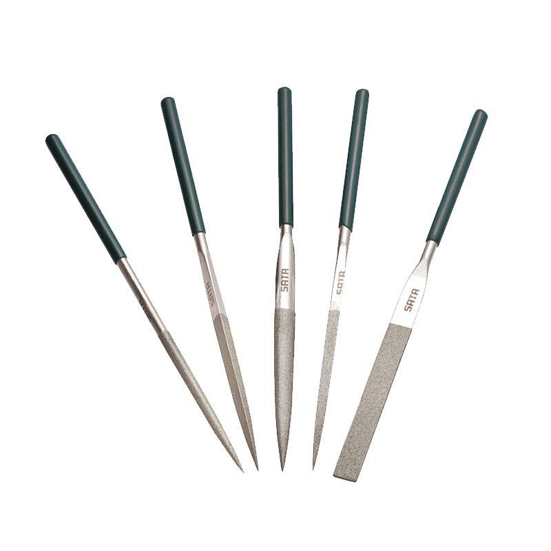 世达整形锉 5件套金刚石整形锉 5X180mm 03850