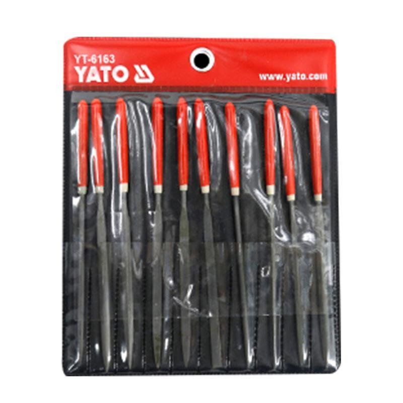 易尔拓YATO 10件套什锦锉组套 3x140x65mm YT-6163