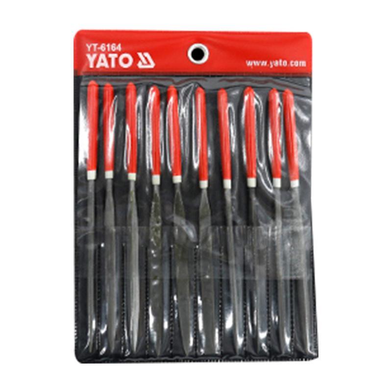 易尔拓YATO 10件套什锦锉组套 4x160x75mm YT-6164