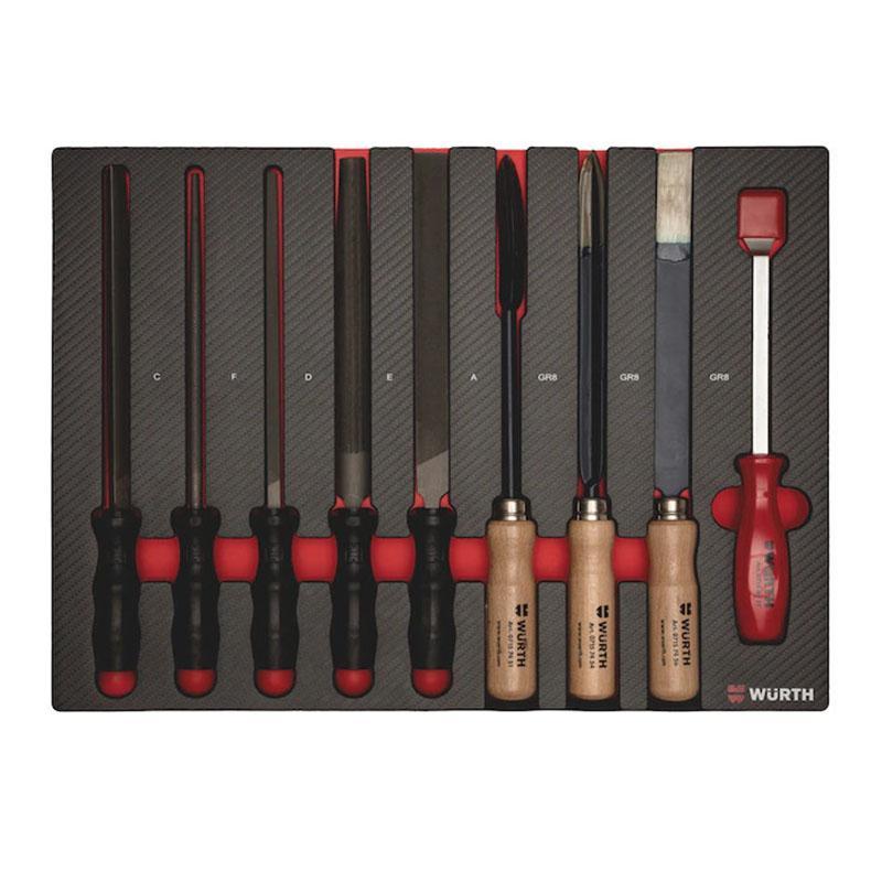 伍尔特钳工锉刀和刮刀组套 0965 900 802 升级型号0965905802