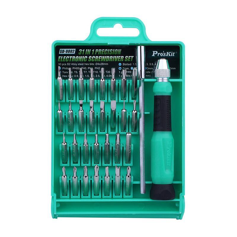 宝工 Proskit 31合1精密多功能起子组,SD-9802,拆机工具