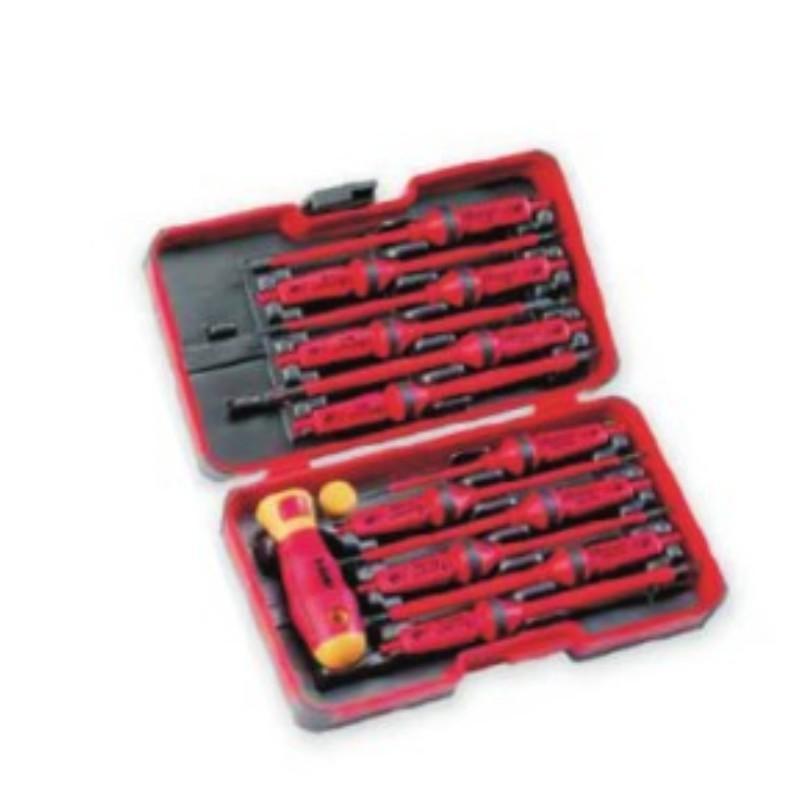 塔夫TAFFTOOL 螺丝刀套装,14件套,5322114