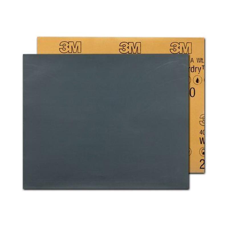 3M 401Q水砂纸,400#,圆形,直径Ø230mm,100张/包
